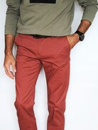 Paul Brun Chino`s rostfarben