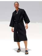 Rufskin Oasis Bathrobe black