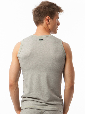 N2N Basic Tank Top heather