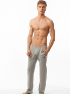N2N Basic Sweat Sporthosen grau