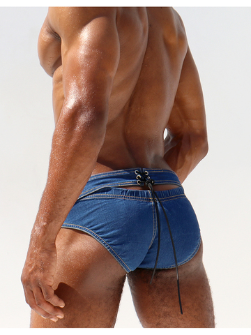 Rufskin Rob´s Denim-Brief distressed