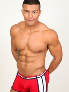 Pistol Pete Patriot Swim Trunk r