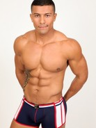 Pistol Pete Patriot Swim Trunk n