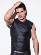 N2N Black Muscle Shirt