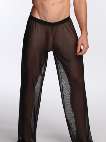 N2N Sheer Pants black