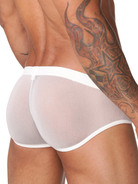 N2N Net Pouch Brief white