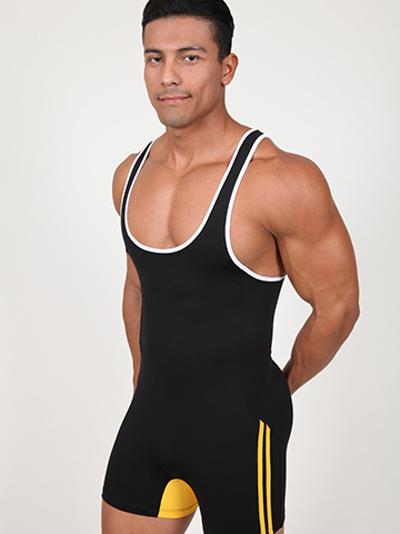 Pistol Pete A-Team Singlet black