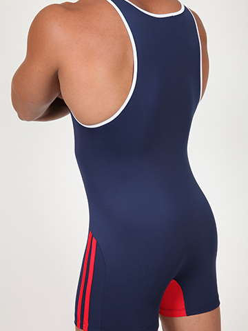 Pistol Pete A-Team Singlet navy
