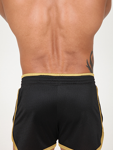 Pistol Pete Fighter Short schwarz