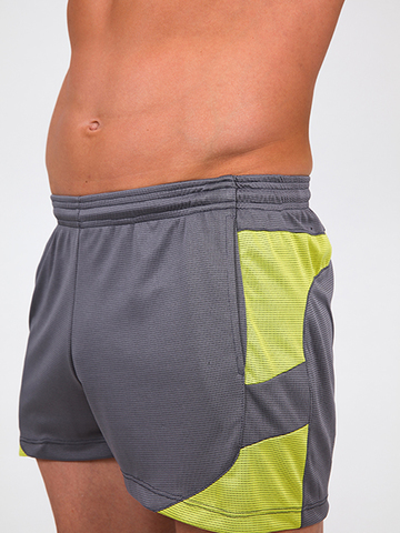 Pistol Pete Crossfit Shorts grey