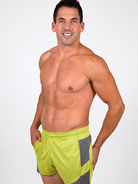 Pistol Pete Crossfit Shorts lime