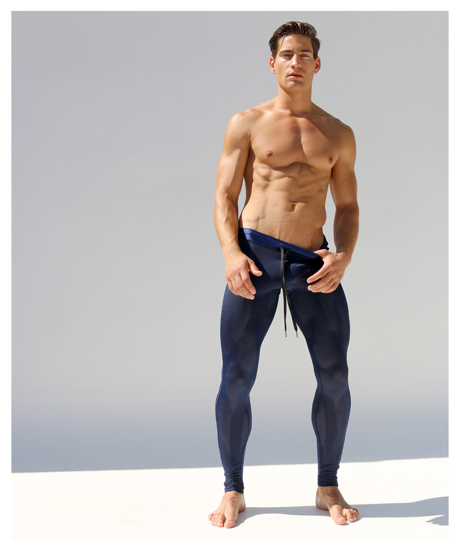 Rufskin Ricky Runner Tight Navy Bottoms Pants Menssecret Com
