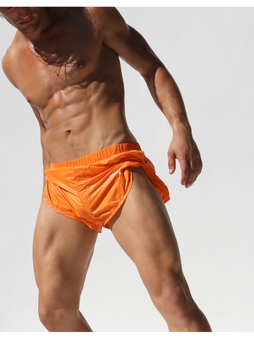 Rufskin Pluton Athletic-Shorts orange