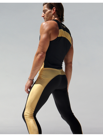 Rufskin Krypto Sport-Tank black/gold