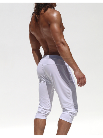 Rufskin Zen 2/3 long Workout-Sporthpant white