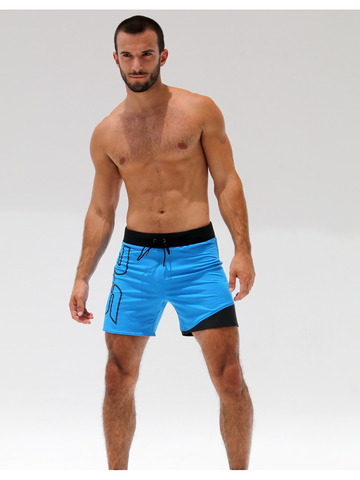 Rufskin Eight Sport-Short blau