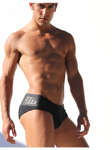 Rufskin Pike Swim-Brief schwarz