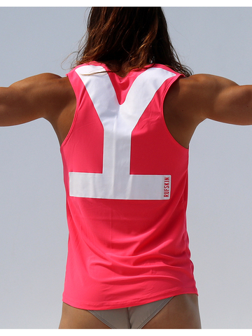 Rufskin Why Tank-Top neon-pink