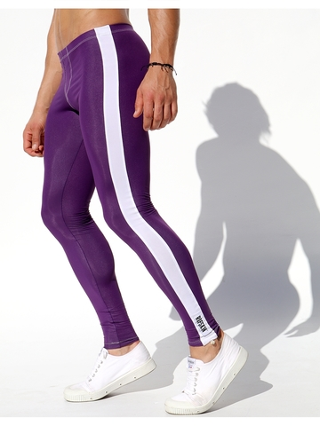 Rufskin Circuit Trainings-Tights aubergine