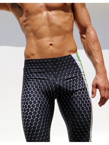 Rufskin Carbon Stretch-Sportleggings black