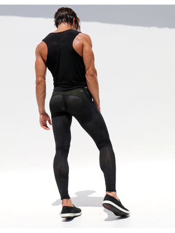 Rufskin Grid Mesh-Trainingleggins black