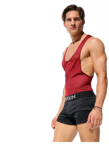 Rufskin Heat Mesh-Body burgundy