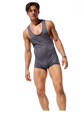 Rufskin Heat Mesh-Body grau