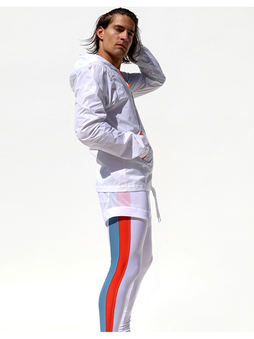 Rufskin Vento Windbreaker white