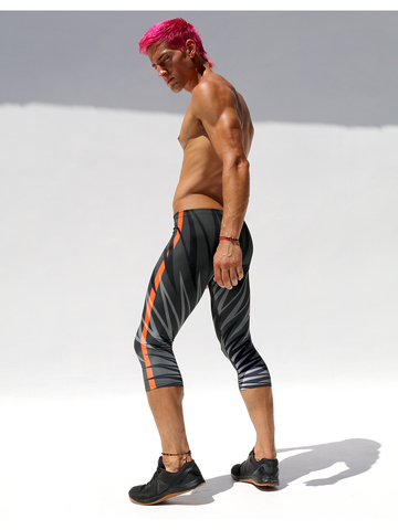 Ruskin Burst Stretch-Sportleggings 3/4 lenght