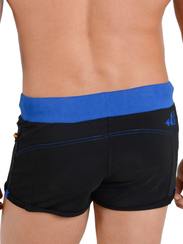 4Hunks Coach Sweat Shorts black