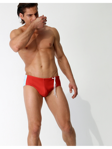 Rufskin Flipper Swimbrief rot