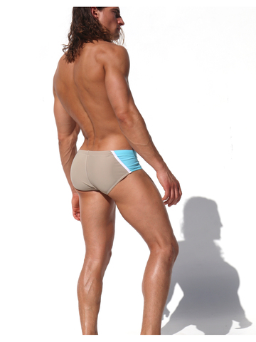 Rufskin Ezio Swim-Brief cappucino-aqua