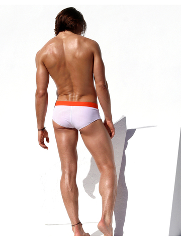 Rufskin Grille Swim-Brief white