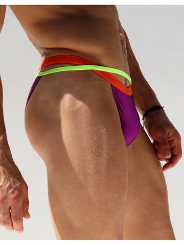 Rufskin Calkini Swim-Brief purple