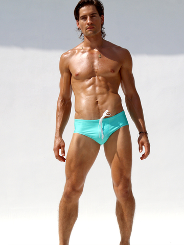 Rufskin Jake Swim-Brief blaugrün