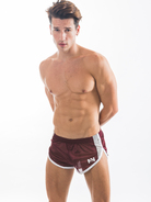 N2N Throw Back Mesh Split Shorts