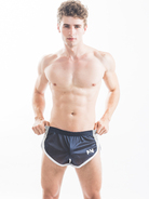 N2N Throw Back Mesh-Splitshorts