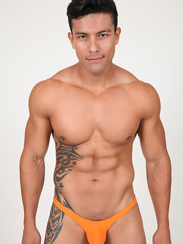 Pistol Pete Rainbow Thong orange