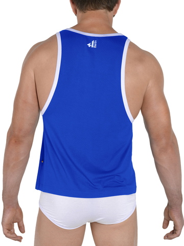 4Hunks Tank royalblau