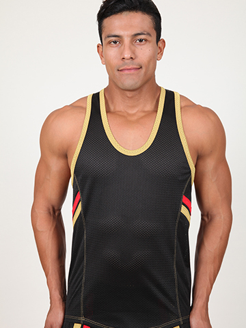 Pistol Pete Fighter Tank schwarz