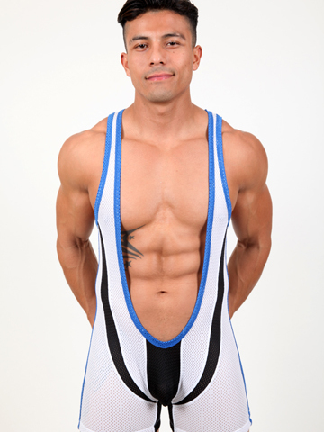 Pistol Pete Super Singlet white