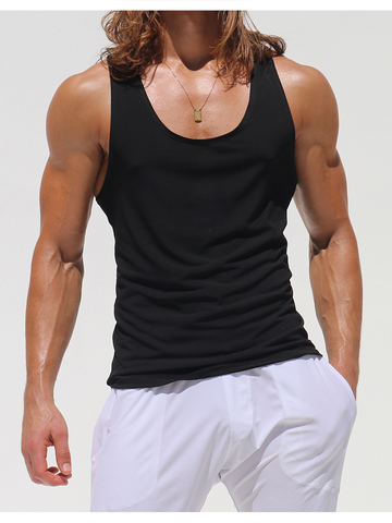 Rufskin Spalda Athletic Tank-Top schwarz