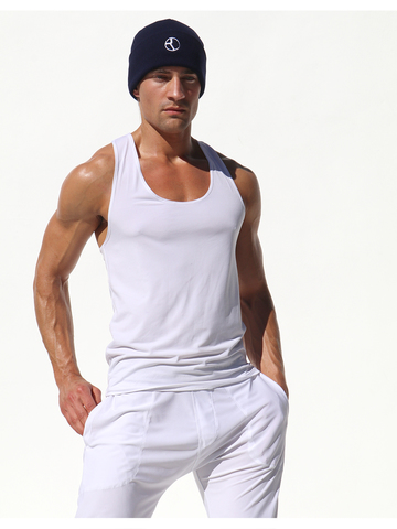 Rufskin Spalda Athletic Tank-Top weiss
