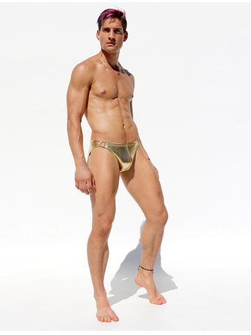 Rufskin Glam Jock-Strap gold new Version