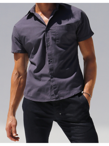 Rufskin Trooper shortsleeve shirt midnightblue
