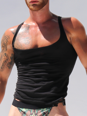 Rufskin Davis Tank-Top black