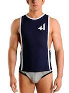 Rufskin Fittet Tank Top navy