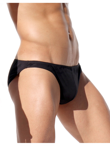 Rufskin Pose Stretch-Briefs Eco-Suede black
